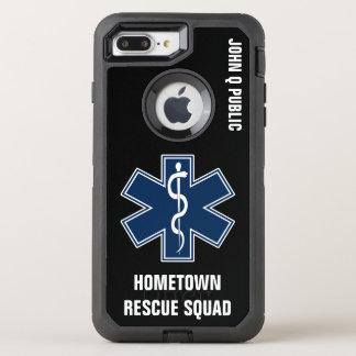 Capa Para iPhone 8 Plus/7 Plus OtterBox Defender Modelo conhecido do paramédico EMT EMS