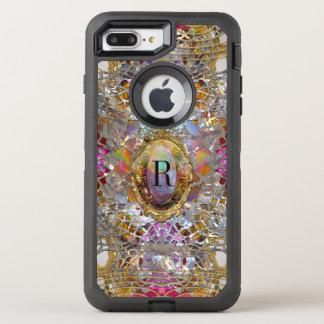 Capa Para iPhone 8 Plus/7 Plus OtterBox Defender Monograma protetor do kaléidoscope 7 legal de