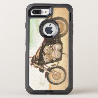 Capa Para iPhone 8 Plus/7 Plus OtterBox Defender Motocicleta clássica