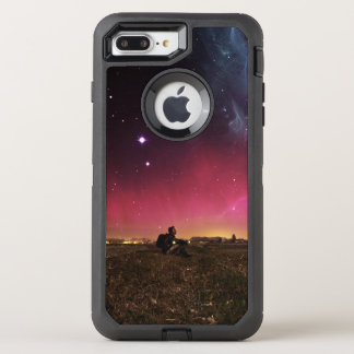 Capa Para iPhone 8 Plus/7 Plus OtterBox Defender Nunca perca sua maravilha Fractalscape