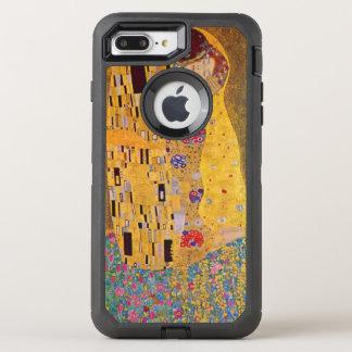 Capa Para iPhone 8 Plus/7 Plus OtterBox Defender O beijo por Klimt