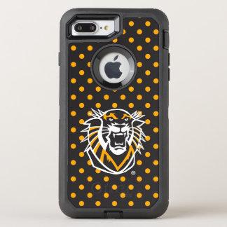 Capa Para iPhone 8 Plus/7 Plus OtterBox Defender O forte faz feno o teste padrão de bolinhas do