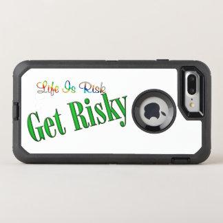 Capa Para iPhone 8 Plus/7 Plus OtterBox Defender Obtenha arriscado