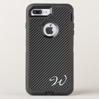 Capa Para iPhone 8 Plus/7 Plus OtterBox Defender Opções da imagem da fibra 1-2 do carbono
