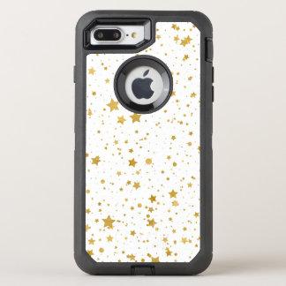 Capa Para iPhone 8 Plus/7 Plus OtterBox Defender Ouro Stars2 - Branco puro
