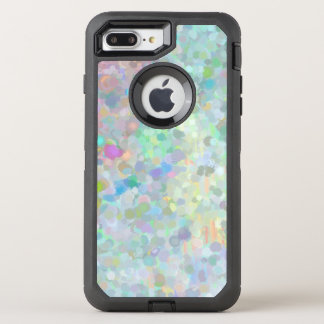Capa Para iPhone 8 Plus/7 Plus OtterBox Defender Pointillism que pinta o caso positivo do iPhone 7
