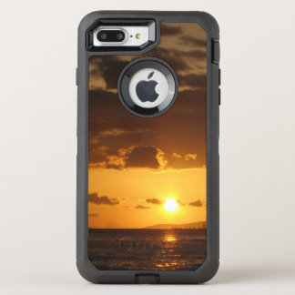 Capa Para iPhone 8 Plus/7 Plus OtterBox Defender Por do sol de Waikiki