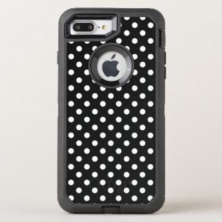 Capa Para iPhone 8 Plus/7 Plus OtterBox Defender Preto com pontos brancos