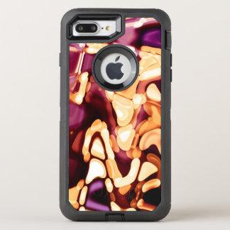Capa Para iPhone 8 Plus/7 Plus OtterBox Defender Reflexões psicadélicos