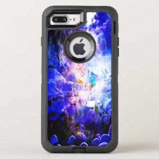 Capa Para iPhone 8 Plus/7 Plus OtterBox Defender Respire outra vez sonhos da noite de Yule