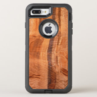 Capa Para iPhone 8 Plus/7 Plus OtterBox Defender Rocha listrada do parque dobro da alcova II Zion