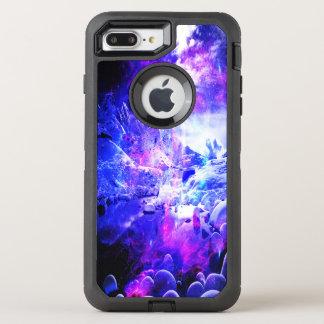 Capa Para iPhone 8 Plus/7 Plus OtterBox Defender Sonhos Amethyst da noite de Yule