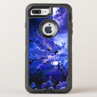 Capa Para iPhone 8 Plus/7 Plus OtterBox Defender Sonhos da noite de Yule
