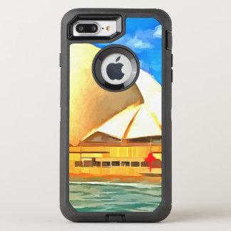 Capa Para iPhone 8 Plus/7 Plus OtterBox Defender Teatro da ópera bonito de Sydney