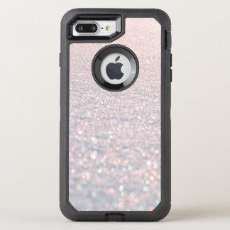 Capa Para iPhone 8 Plus/7 Plus OtterBox Defender Teste padrão à moda cor-de-rosa moderno chique do