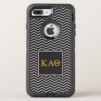 Capa Para iPhone 8 Plus/7 Plus OtterBox Defender Teste padrão alfa da teta   Chevron do Kappa