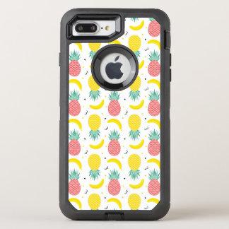 Capa Para iPhone 8 Plus/7 Plus OtterBox Defender Teste padrão colorido da fruta tropical