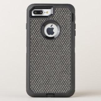 Capa Para iPhone 8 Plus/7 Plus OtterBox Defender Teste padrão metálico do diamante