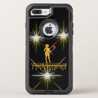 Capa Para iPhone 8 Plus/7 Plus OtterBox Defender Thickaholic, preto & caso de Otterbox do ouro