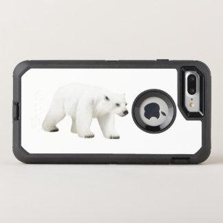 Capa Para iPhone 8 Plus/7 Plus OtterBox Defender Urso polar, caso de Otterbox