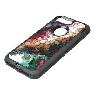 Capa Para iPhone 8 Plus/7 Plus OtterBox Defender Vento escuro céntrico do cubo