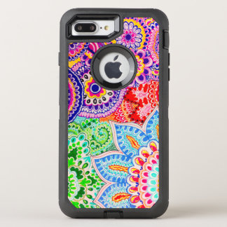 Capa Para iPhone 8 Plus/7 Plus OtterBox Defender Verão indiano