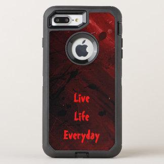 Capa Para iPhone 8 Plus/7 Plus OtterBox Defender Vida viva diária