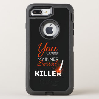 Capa Para iPhone 8 Plus/7 Plus OtterBox Defender Você inspira meu assassino em série interno