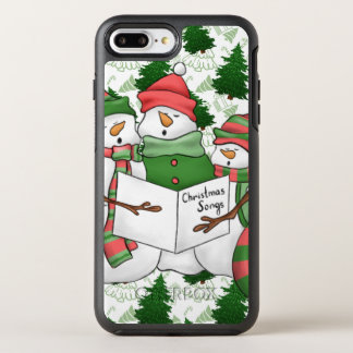 Capa Para iPhone 8 Plus/7 Plus OtterBox Symmetry 3 Carolers do boneco de neve