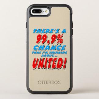Capa Para iPhone 8 Plus/7 Plus OtterBox Symmetry 99,9% UNIDO (preto)