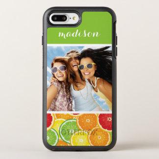 Capa Para iPhone 8 Plus/7 Plus OtterBox Symmetry A laranja, a toranja, o limão & o limão |