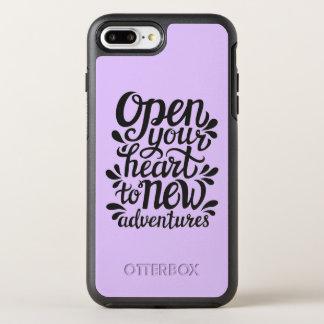 Capa Para iPhone 8 Plus/7 Plus OtterBox Symmetry Abra seu coração às aventuras novas