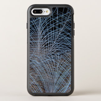 Capa Para iPhone 8 Plus/7 Plus OtterBox Symmetry Abstrato cinzento da pena