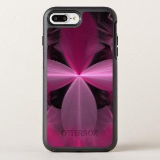 Capa Para iPhone 8 Plus/7 Plus OtterBox Symmetry Abstrato cor-de-rosa de roda das pétalas da flor