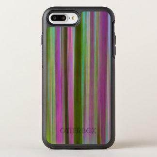 Capa Para iPhone 8 Plus/7 Plus OtterBox Symmetry Abstrato da floresta tropical de Hoh no crepúsculo