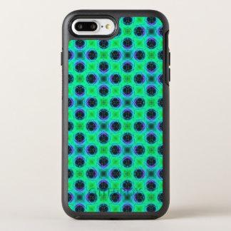 Capa Para iPhone 8 Plus/7 Plus OtterBox Symmetry Abstrato geométrico azul roxo verde
