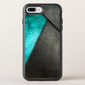 Capa Para iPhone 8 Plus/7 Plus OtterBox Symmetry Aguarela do Grunge e capa de telefone da placa de