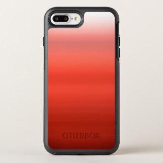 Capa Para iPhone 8 Plus/7 Plus OtterBox Symmetry Aguarela vermelha Ombre