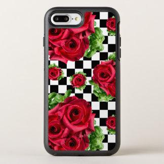 Capa Para iPhone 8 Plus/7 Plus OtterBox Symmetry Amor floral do buquê das rosas vermelhas