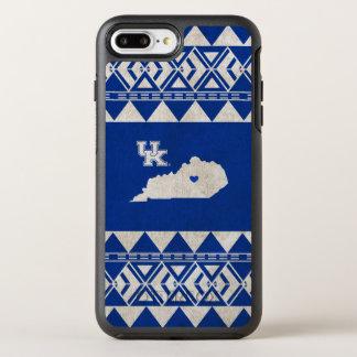 Capa Para iPhone 8 Plus/7 Plus OtterBox Symmetry Amor tribal do estado de Kentucky |