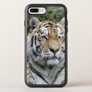 Capa Para iPhone 8 Plus/7 Plus OtterBox Symmetry Animais polis - tigre