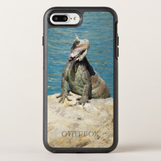 Capa Para iPhone 8 Plus/7 Plus OtterBox Symmetry Animais selvagens tropicais da iguana