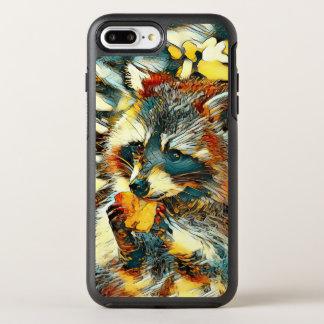 Capa Para iPhone 8 Plus/7 Plus OtterBox Symmetry AnimalArt_Raccoon_20170601_by_JAMColors