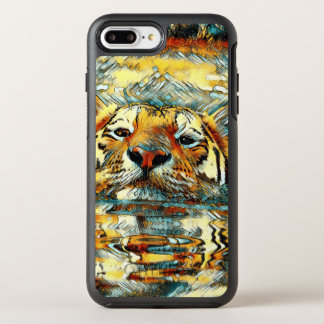Capa Para iPhone 8 Plus/7 Plus OtterBox Symmetry AnimalArt_Tiger_20170601_by_JAMColors