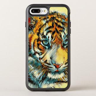 Capa Para iPhone 8 Plus/7 Plus OtterBox Symmetry AnimalArt_Tiger_20170611_by_JAMColors