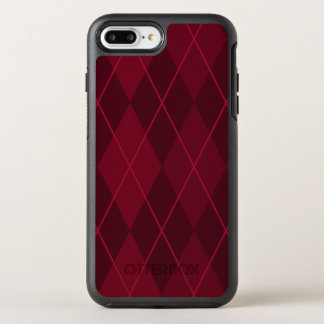 Capa Para iPhone 8 Plus/7 Plus OtterBox Symmetry Argyle vermelho