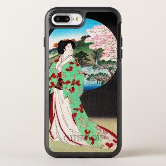 Capa Para iPhone 8 Plus/7 Plus OtterBox Symmetry Arte clássica japonesa oriental legal da senhora