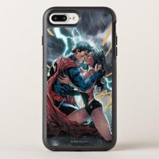 Capa Para iPhone 8 Plus/7 Plus OtterBox Symmetry Arte relativa à promoção cómica do superman/mulher