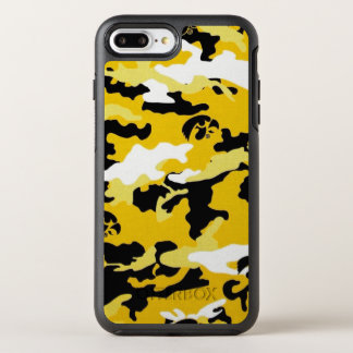 Capa Para iPhone 8 Plus/7 Plus OtterBox Symmetry As forças armadas amarelas do exército de Como da