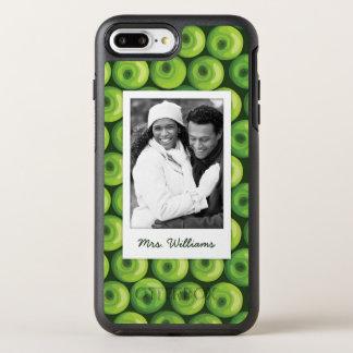 Capa Para iPhone 8 Plus/7 Plus OtterBox Symmetry As maçãs verdes | adicionam sua foto